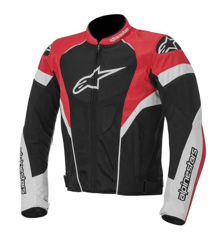 Giacca moto Alpinestars T-GP Plus R Air nero bianco rosso