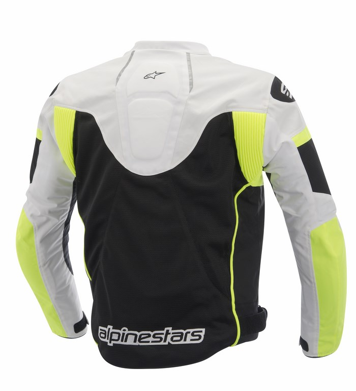 Alpinestars T-GP Plus R Air jacket black white yellow fluo