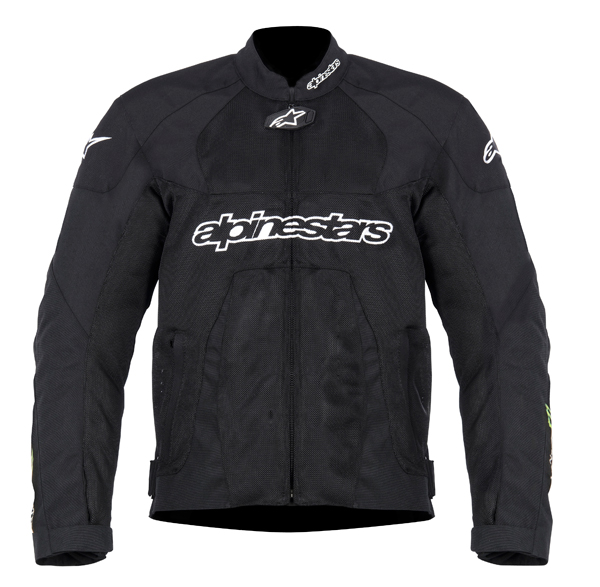 Giacca moto Alpinestars T-Scream Air Monster Coll. nero-verde