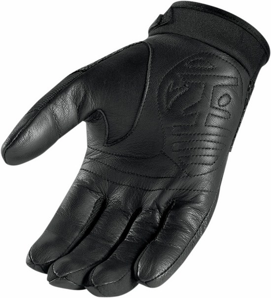 Summer Motorcycle Gloves Icon Twenty-Niner Black