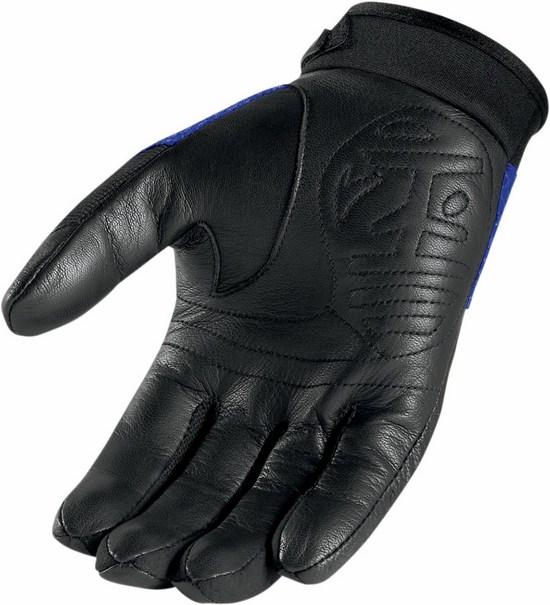 Summer Motorcycle Gloves Icon Twenty-Niner Blue