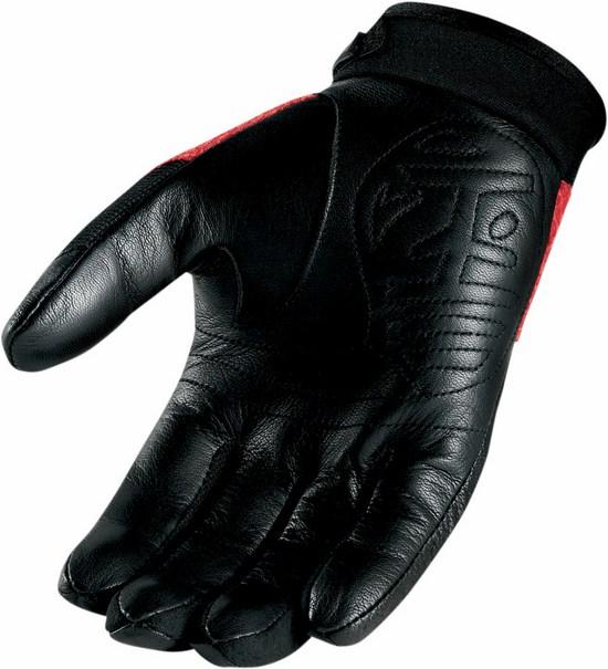 Summer Motorcycle Gloves Icon Twenty-Niner Red