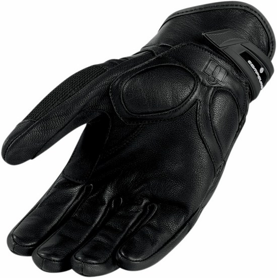 Summer Motorcycle Gloves Icon Compound Black