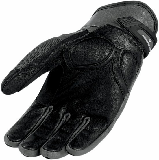 Summer Motorcycle Gloves Icon Grey Compound