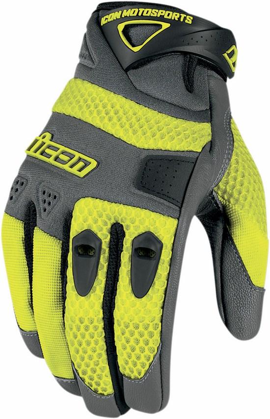 Gloves Summer Anthem Yellow Icon