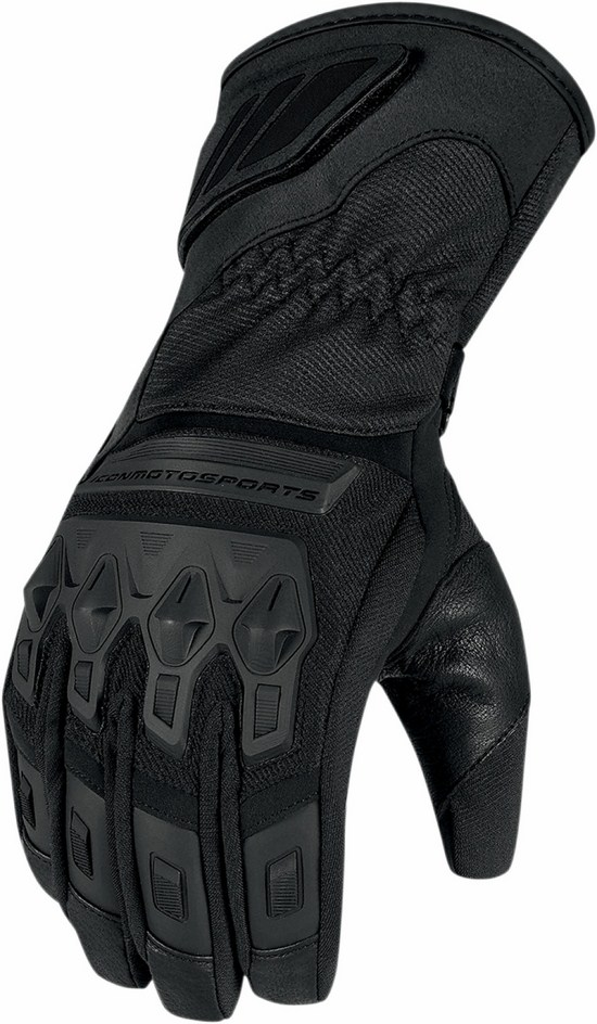 Waterproof Gloves Icon Black Citadel