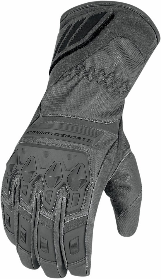 Waterproof Gloves Icon Grey Citadel