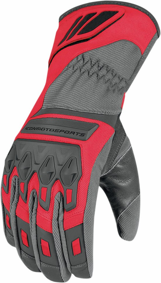 Waterproof Gloves Icon Red Citadel