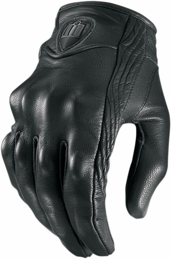 Icon Pursuit Women Leather Gloves Black