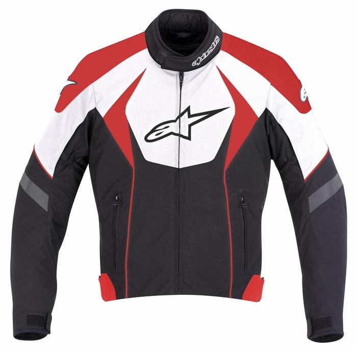 Giacca moto Alpinestars T-GP R Nero Bianco Rosso