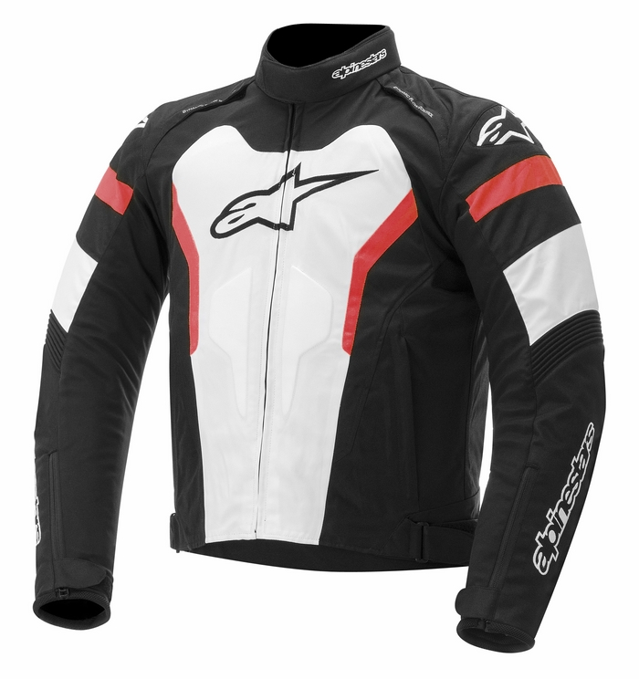 Jacket Alpinestars T-GP Pro Black White Red