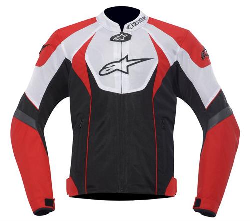 Giacca moto Alpinestars T-GP R Air Rosso-Nero-Bianco