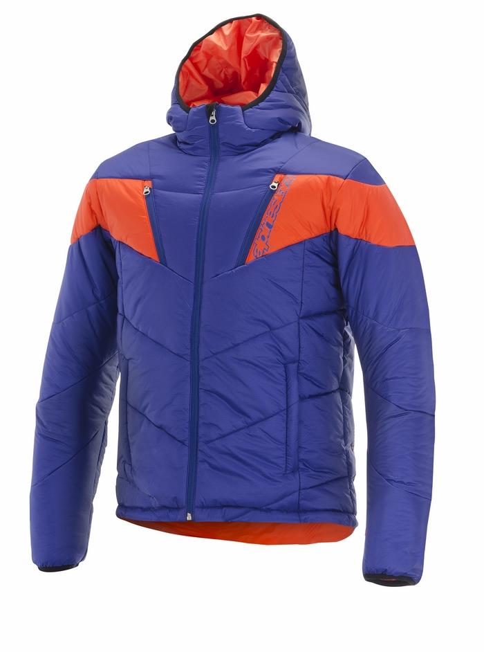 Mack Jacket Alpinestars Blue Orange