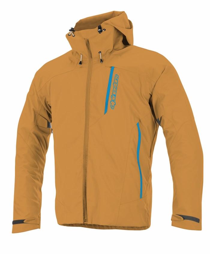 Giacca moto Alpinestars Logan 3L WP arancio