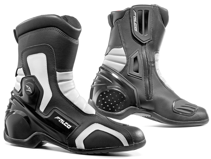Motorcycle Boots Falco Axis 2 Black White