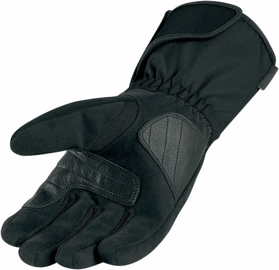 Woman Icon PDX Waterproof Motorcycle Gloves Black