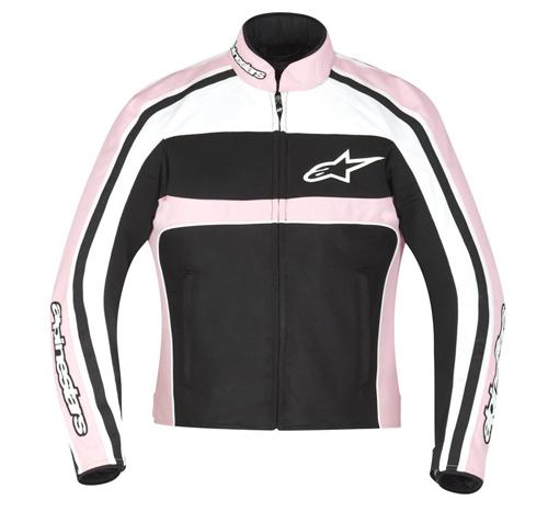 Alpinestars STELLA T-DYNO Air woman jacket White-Pink