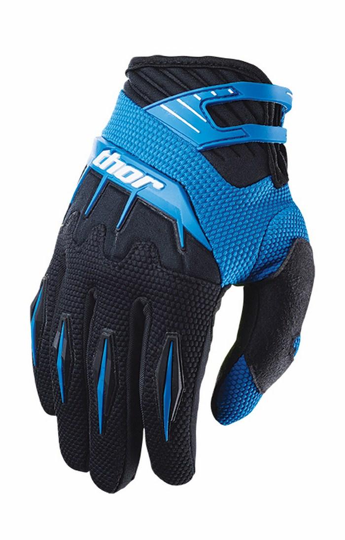 Thor Spectrum Gloves cross blue