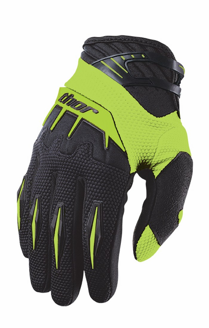 Thor Spectrum Gloves cross green