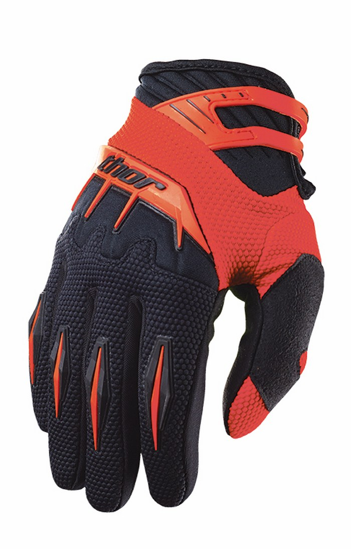 Thor Spectrum Gloves cross red