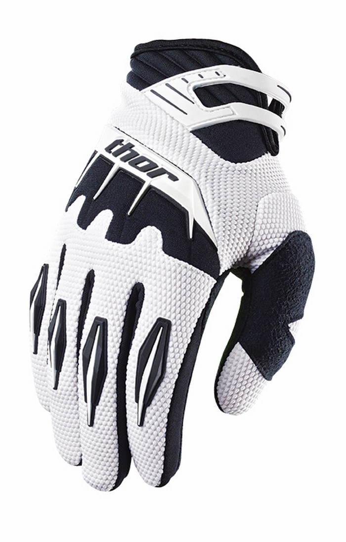Thor Spectrum Gloves cross white