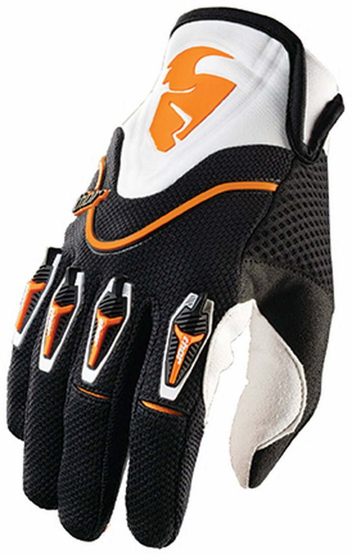 Thor Flow Gloves cross orange