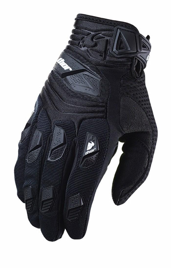 Thor Deflector Gloves cross blacks