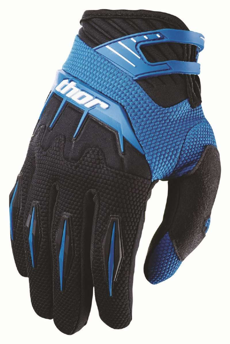 Thor Youth Spectrum Gloves blue