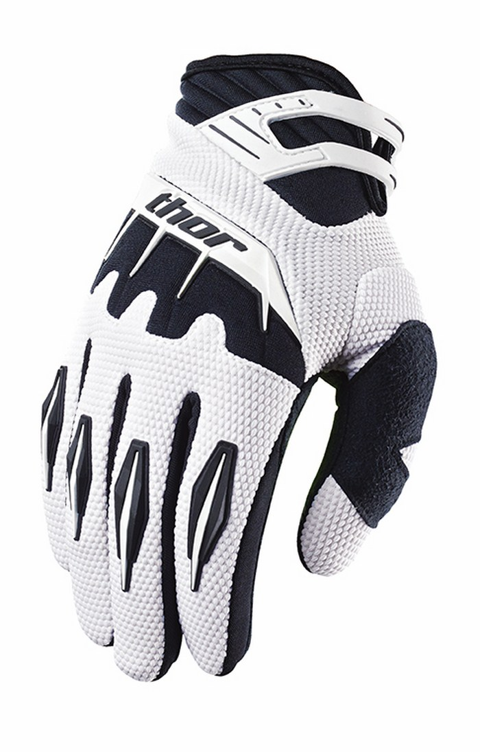 Thor Youth Spectrum Gloves cross baby white