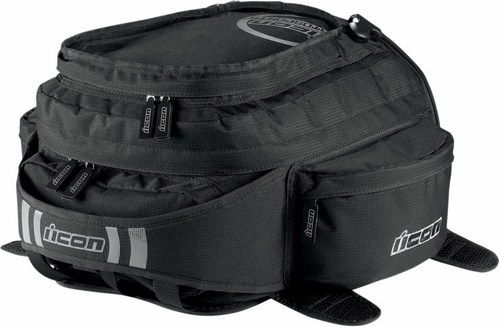 Magnetic Icon Urban Tank Bag Black