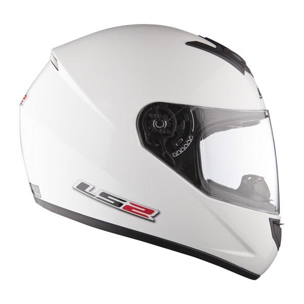 Full face helmet LS2 FF351 Single Mono white