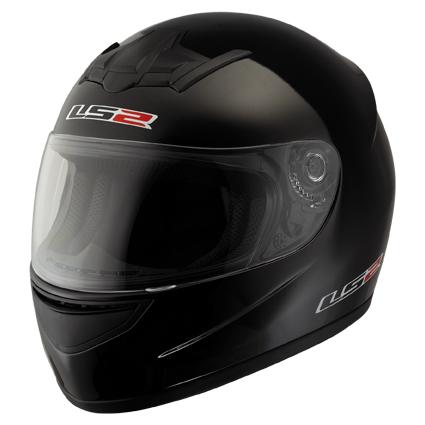Casco moto integrale LS2 FF351 Single Mono Nero