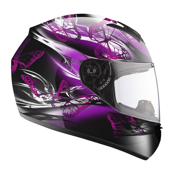 Full face helmet LS2 FF351 Black Flutter