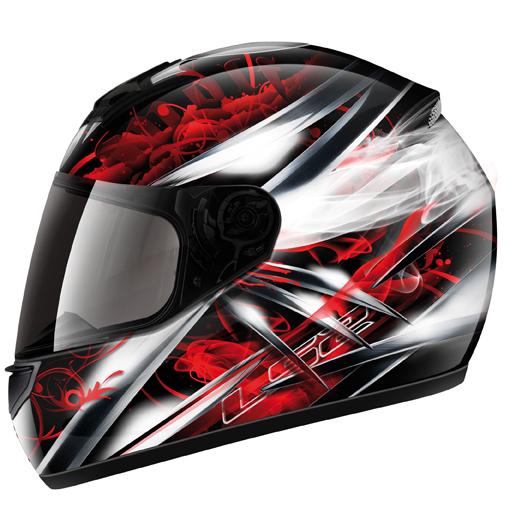 LS2 FF351 Wolf full face helmet Black-Red