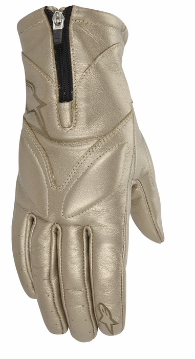 Women leather motorcycle gloves Alpinestars Stella Vika Ch