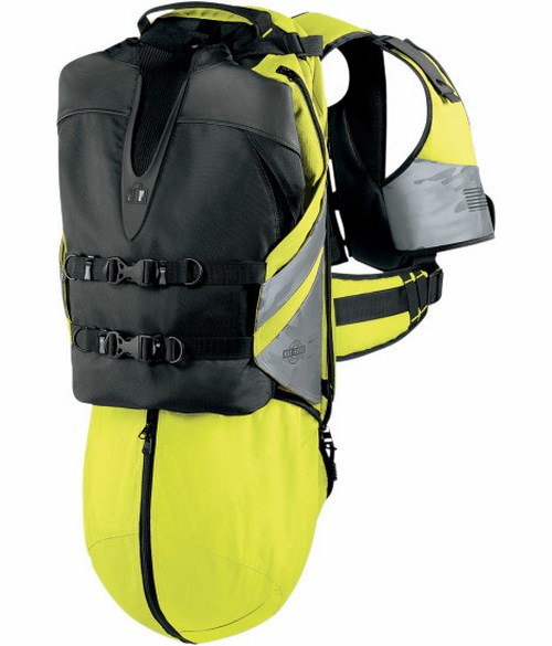 Icon Squad 2 Backpack Neon Yellow