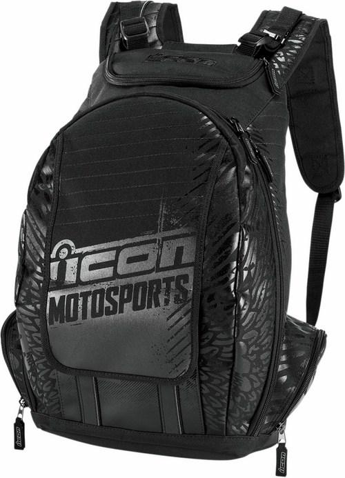 Icon Old Skool Backpack Black