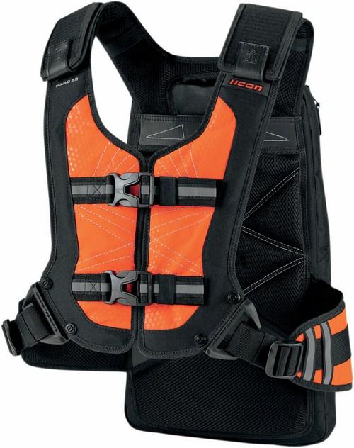 Icon Squad Backpack Orange fluo 3