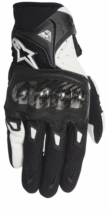 Summer Motorcycle Gloves Alpinestars Stella SMX-woman AC 2 Black