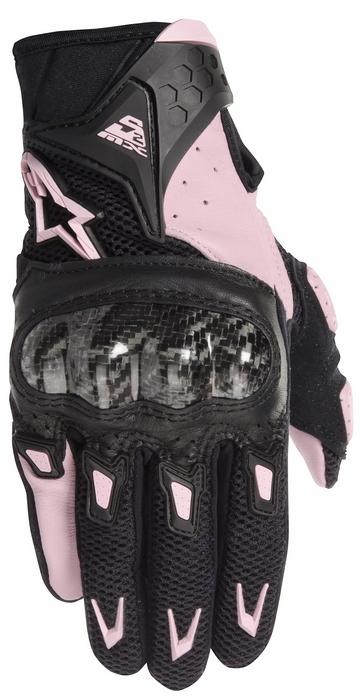 Summer Motorcycle Gloves Alpinestars Stella SMX-woman 2 AC Black