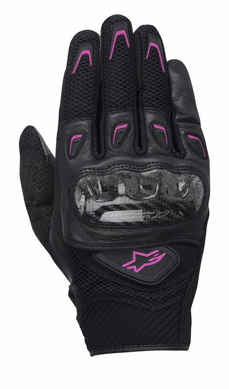 Alpinestars Stella SMX-2 Air Carbon woman gloves Black Pink