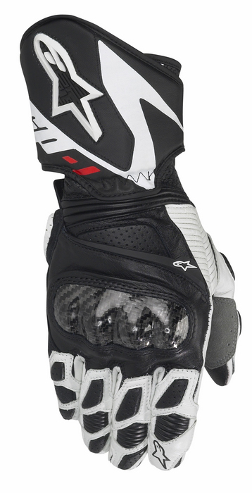 Women leather motorcycle gloves Alpinestars Stella SP-1 Bl