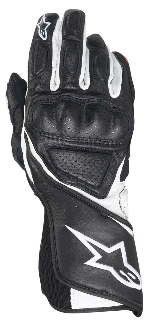 Alpinestars Stella SP-8 women leather gloves black-white