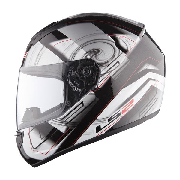 Full face helmet LS2 FF351 Silver Action