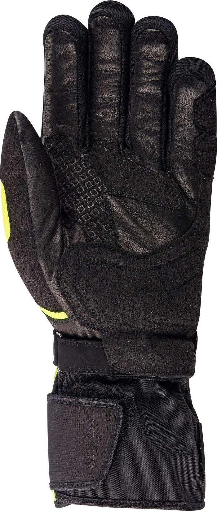 Heated Motorcycle Gloves Black Alpinestars Celsius