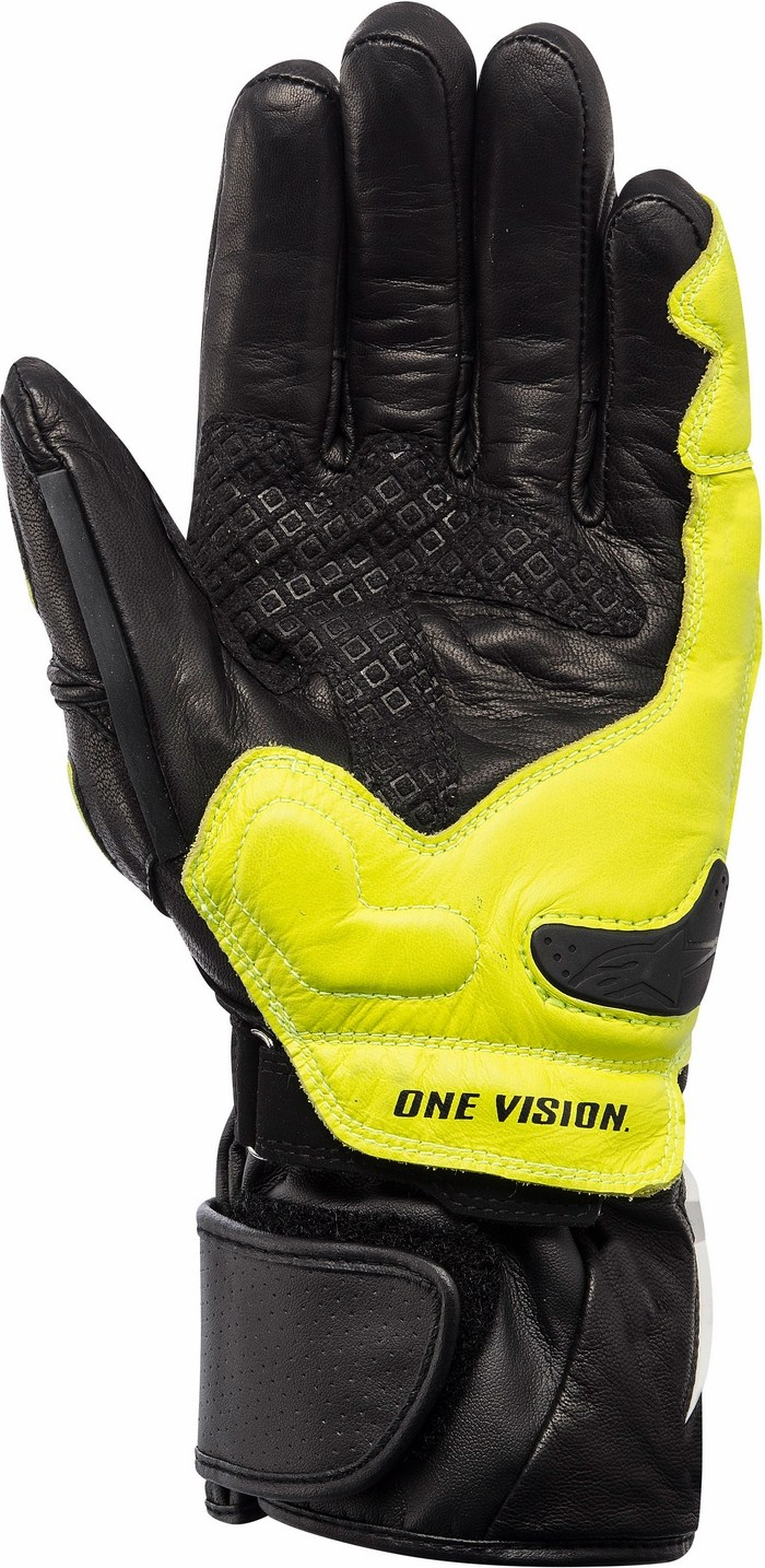 Alpinestars Archer X-Trafit gloves black-yellow fluo