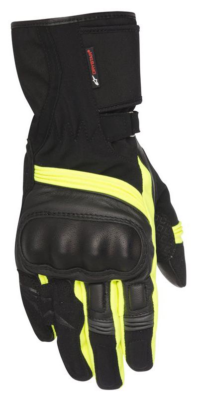 Valparaiso Drystar Gloves Alpinestars Black Neon Yellow