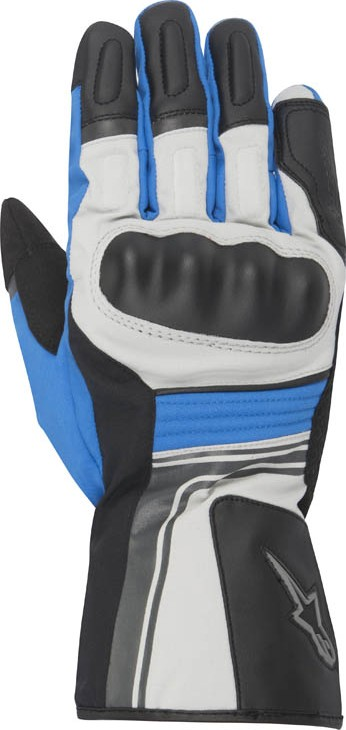 Alpinestars Santiago Drystar gloves Black Grey Blue