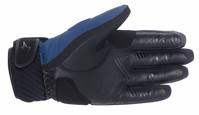 Alpinestars Yari Drysta gloves blue