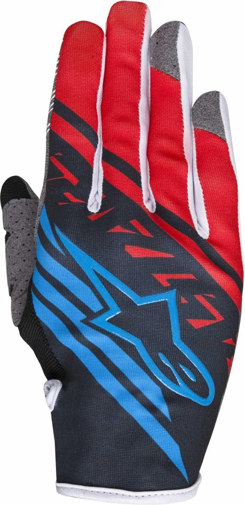 Alpinestars Youth Racer Supermatic cross gloves Black Red
